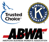 Affiliations: Trusted Choice, Kiwanis International, ABWA